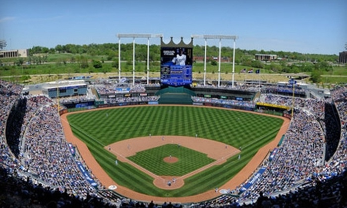 Kansas City Royals - Truman Sports Complex: Kansas City Royals Game at Kauffman Stadium (Up to 51% Off). Two Seating Options and Four Games Available.