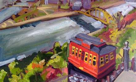 Three-Hour Pittsburgh-Themed Painting Class for One, Two, or Four at Studio Ochre (Up to 53% Off)