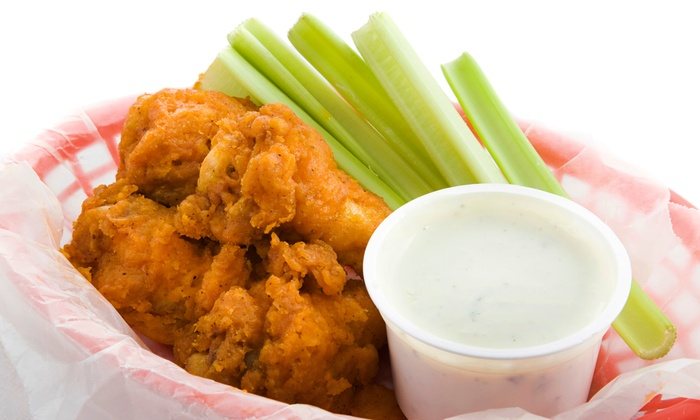 Cluck-U Chicken - Union: Chicken Wing Meal with 20 or 40 Wings at Cluck-U Chicken (Up to 54% Off)
