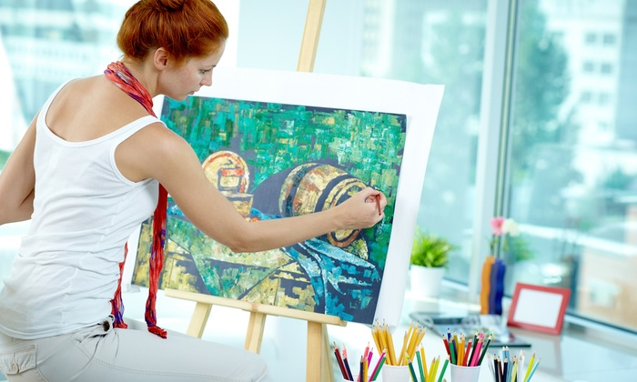 Living Creatively With Denise Laurin - Bartlett: Two-Hour Painting Lesson at Living Creatively with Denise Laurin (60% Off)