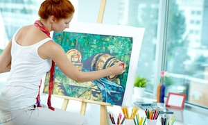 The Art Cellar: 2-Hour Paint Night for One or Two at The Art Cellar (Up to 59% Off)