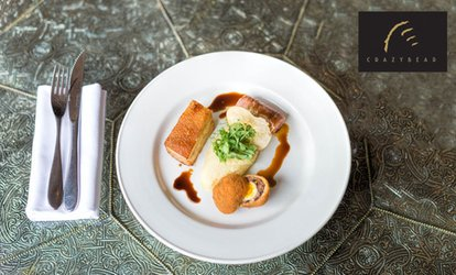 image for English or Thai - Two or Three Courses at The Crazy Bear from £19.50 (Up to 53% Off)