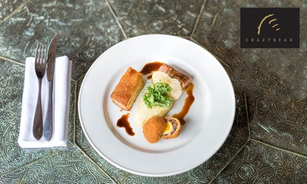 English or Thai - Two or Three Courses at The Crazy Bearfrom £19.50 (Up to 53% Off)