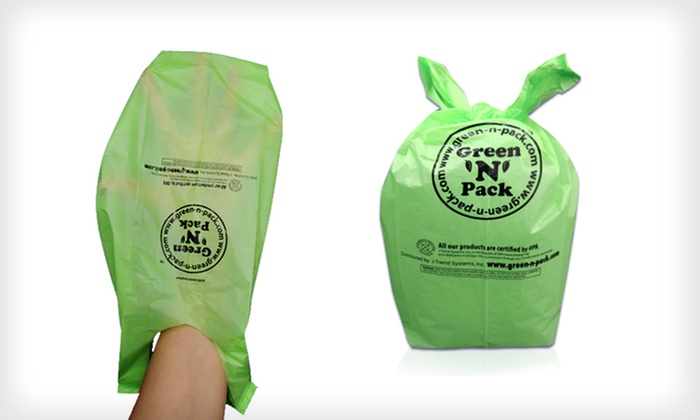 Green 'N' Pack Dog-Waste Bags : $18 for a Green 'N' Pack Eco-Friendly Dog-Waste Bag Bundle ($37.96 List Price). Free Shipping and Returns.