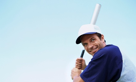 30-Minute Batting Lesson or 60-Minute Batting and Fielding Lesson at Tomball Golf- Baseball (Up to 63% Off)