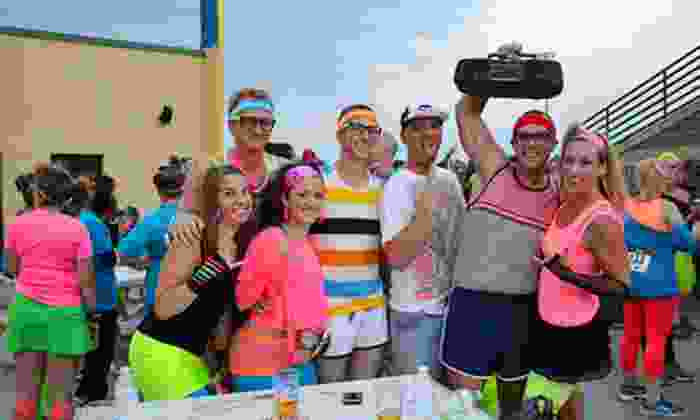 Totally RAD 80s Run - Plainfield: Entry for One or Two to the Totally RAD 80s Run on Saturday, September 14, at 7 p.m. (49% Off)