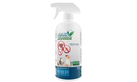 2 spray antiparassitari da 500 ml per cani e gatti