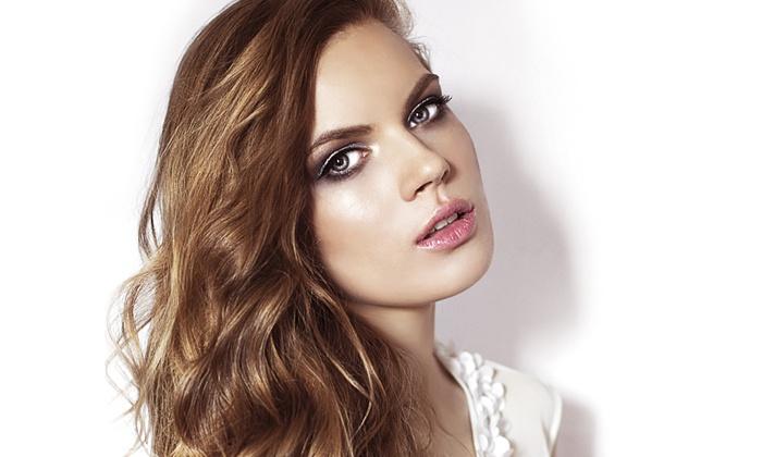 Forfait coiffure pour toutes longueurs de cheveux mbg coiffure groupon - Tarif couleur meche coupe brushing ...