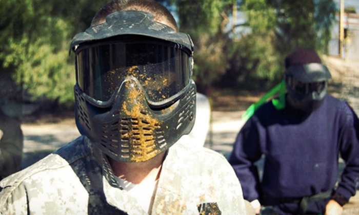 Giant Paintball - San Diego: Paintball Package for 1 or Up to 12 with Gear Rental at Giant Paintball (Up to 64% Off)