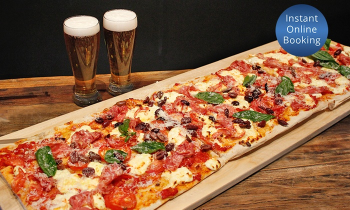 1 metre pizza 4 craft beers bar surry hills italian kitchen groupon. Black Bedroom Furniture Sets. Home Design Ideas
