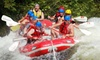 U.S. Rafting - Pond Road: Weekday or Weekend Rafting Trip with Transportation, Gear, and a Barbecue Lunch from U.S. Rafting (Up to 56% Off)