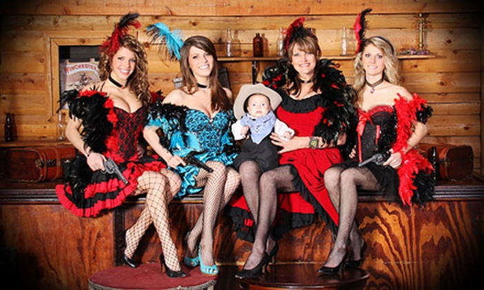 "Three Sisters Old Time Photos - Multiple Locations: Old-Time-Photo Packages for Up to 10 People with 8""x10"" Prints at Three Sisters Old Time Photos (Up to 80% Off)"