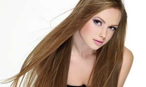 Artistic Edge Hair Studio: Haircut, Keratin Treatment, or Highlights at Artistic Edge Hair Studio (Up to 63% Off). Four Options Available.