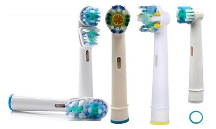 Hasta 32 recambios compatibles con cepillos eléctricos Oral B