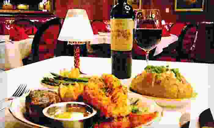 The Golden Steer Steakhouse - The Strip: $25 for $50 Worth of Steak, Seafood, and Drinks at The Golden Steer Steakhouse.