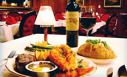 $25 for $50 Worth of Steak, Seafood, and Drinks at The Golden Steer Steakhouse.