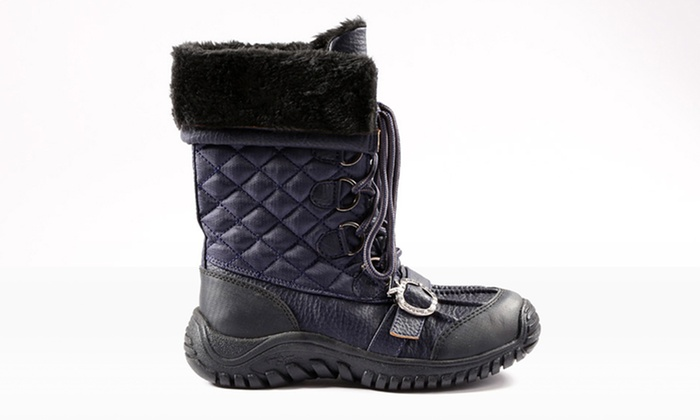 Apple Bottom Snow Boots (Size 9) | Groupon