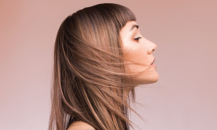 Two Blowouts or Two Haircuts and Conditioning Treatments with Optional Highlights at Toni&Guy Academy (46% Off)