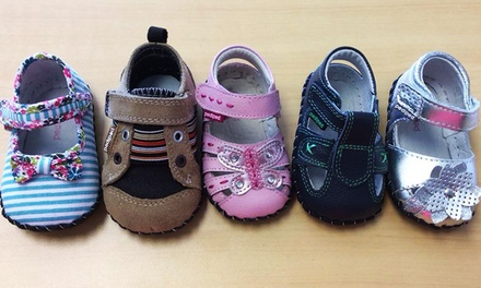 Children's Shoes and Accessories at Lou's Bootery Children's Shoes Specialist (50% Off). Two Options Available.