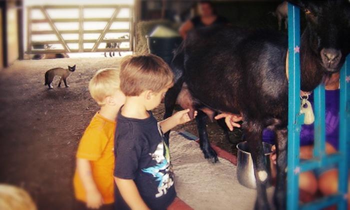 Screamin' Oaks Farm - Stranger: Guided Farm Tour for Up to 4 or 10 at Screamin' Oaks Farm (Up to 54% Off)