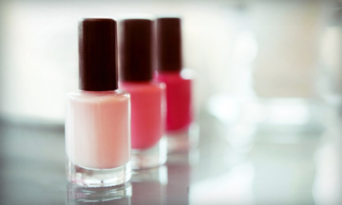 Fresh Nails & Spa - Perrysburg: Shellac Manicure, a Classic Pedicure, or Both, or One or Three Eyebrow Threadings at Fresh Nails & Spa (Up to 54% Off)