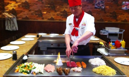 45% Off Sushi or Hibachi Dinner for Two or More at Sumo