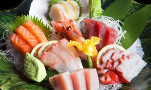 Takara Japanese Steakhouse: $15 for $30 Worth of Japanese Food, Hibachi, and Sushi at Takara Japanese Steakhouse