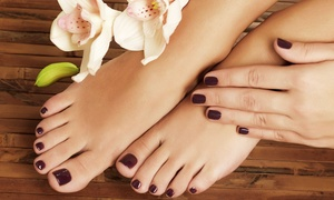 Spa DG Couture: One or Two Spa Mani-Pedis or Two Spa Pedicures at Spa DG Couture (Up to 62% Off)