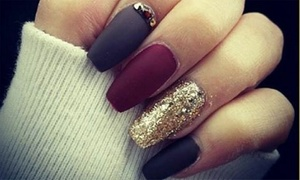 Glamour Touch Nails Spa: Manicure and Pedicure with Optional Paraffin Treatment, Haircut and Blow-Dry at Glamour Touch Nails Spa (Up to 62% Off)