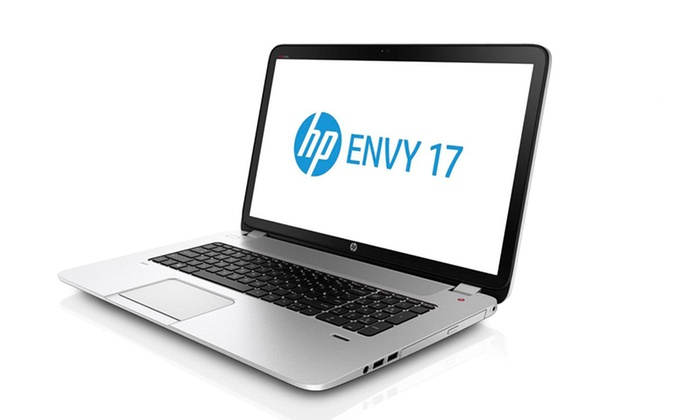 "HP Envy 17.3"" Laptop with 8GB RAM: HP Envy 17.3 Laptop with 1TB Hard Drive & IntelCore i5 Processor (17-j013cl) (Manufacturer Refurbished). Free Returns."