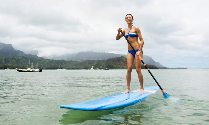 Local Paddler - Multiple Locations: Two-Hour Standup-Paddleboarding Adventure for One, Two, Four, or Eight from Local Paddler (Up to 62% Off)