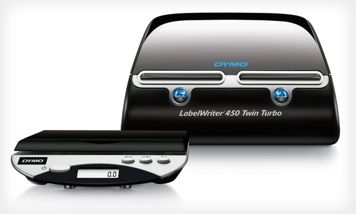 Dymo Desktop LabelWriter and Scale: $99 for a Dymo Desktop Mailing Solution Twin Turbo LabelWriter and Scale ($249.99 List Price). Free Shipping.
