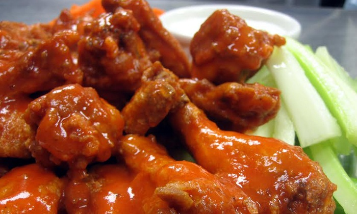 Alondra Hot Wings - Multiple Locations: American Food at Alondra Hot Wings (40% Off). Two Options Available.