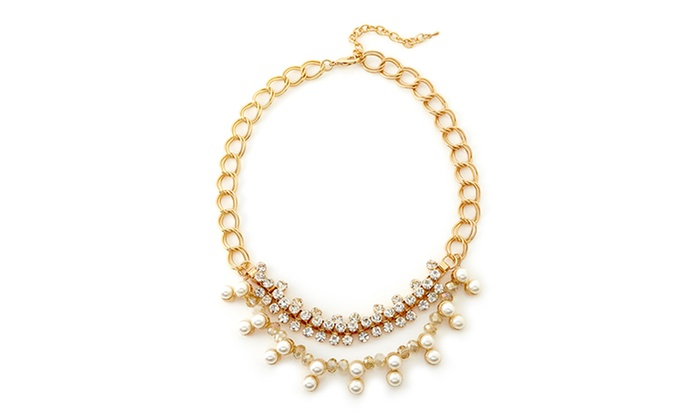 Leslie Danzis Pearl Drop Necklace: Leslie Danzis Pearl Drop Necklace | Brought to You by ideel