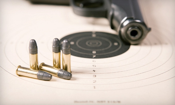 National Armory - National Armory: One Hour on Shooting Range with Equipment for Two or Four at National Armory in Pompano Beach (Up to 55% Off)