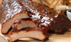 Frankie's Patriot BBQ - East Lake: Dine-In Barbecue Dinner for Two or Four, or Barbecue Sample Package Frankie's Patriot BBQ (Up to 52% Off)