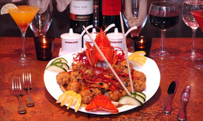 Nanking Restaurant - South Plainfield: $35 for an Asian-Fusion Dinner for Two at Nanking Restaurant (Up to $75 Value)