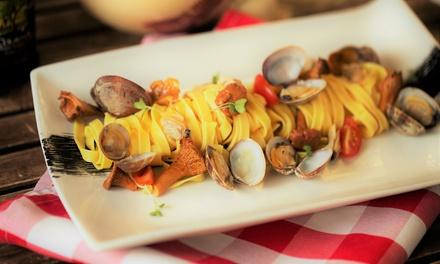 Gastronomie Napolitaine en 3 temps avec entrée, plat, dessert pour 2 pers. dès 23,90€ au restaurant Osteria da Luigi