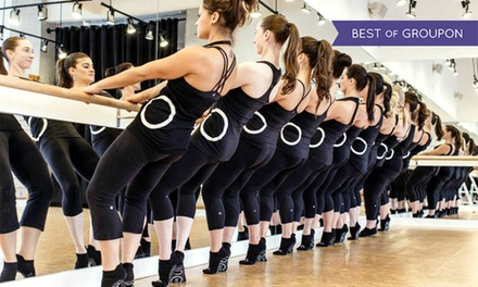 10 Barre Classes or One Month of Unlimited Barre Classes at iNSiDE Out STUDiO barre (Up to 58% Off)