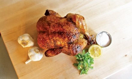 Rotisserie Chicken Combo Meal for Four at Mighty Bird (32% Off)