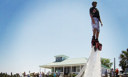 Intro Flyboarding Course with Flight Time for Three or Six People at Aquafly (Up to 51% Off)