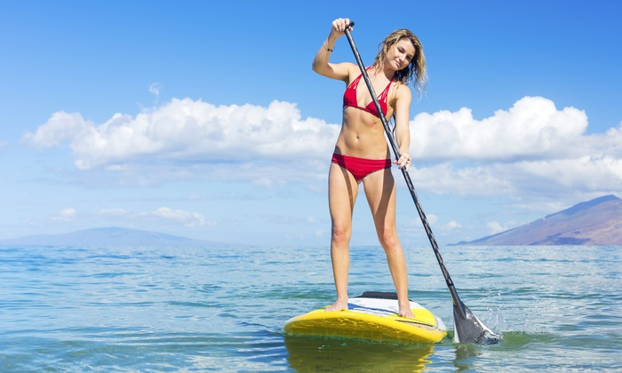 Rudee Inlet Stand Up Paddle - Virginia Beach: $39 for a Two-Hour Lesson and Flat Water Bald Eagle Eco Tour from Rudee Inlet SUP ($80 Value)