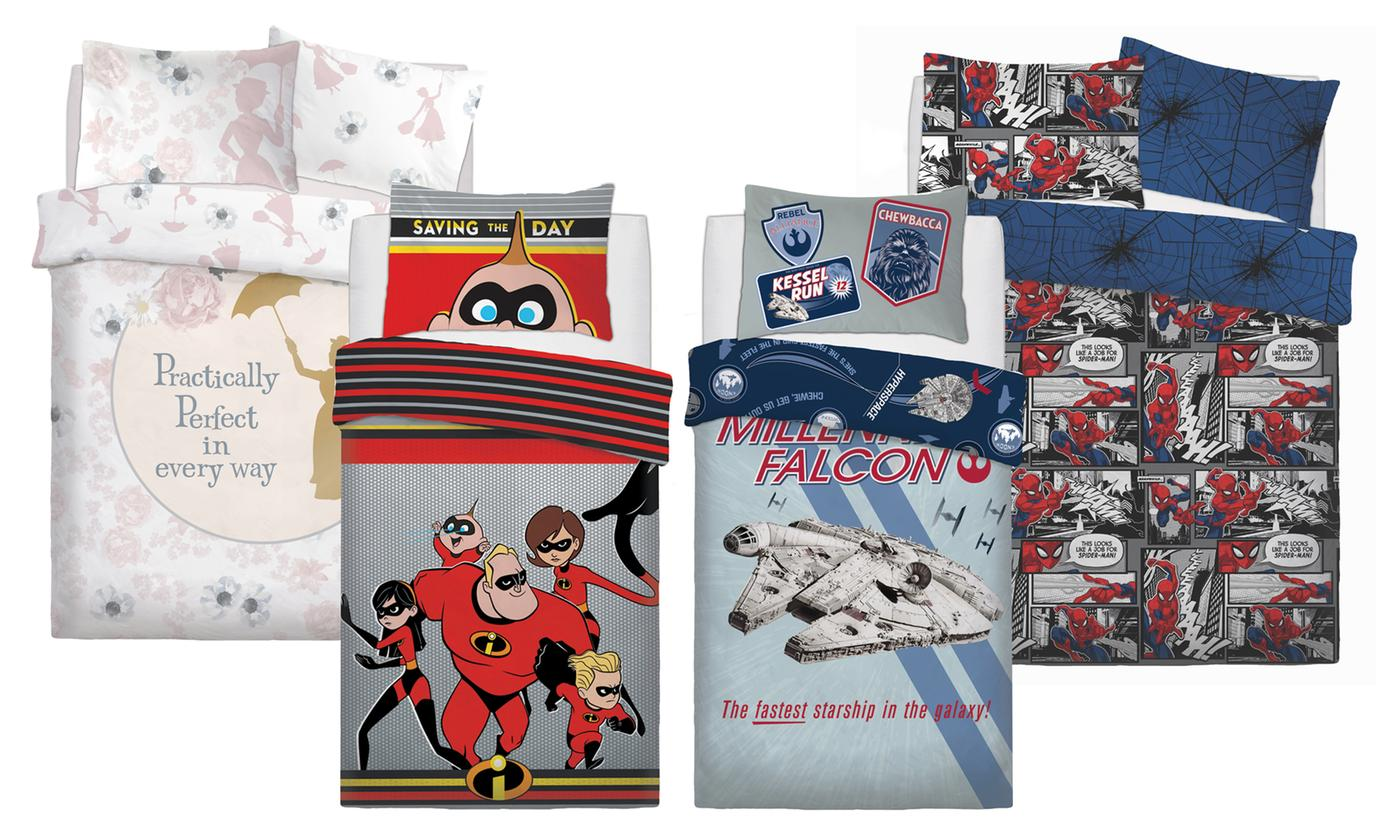 Disney Warner Bros Reversible Duvet Set for £8.99