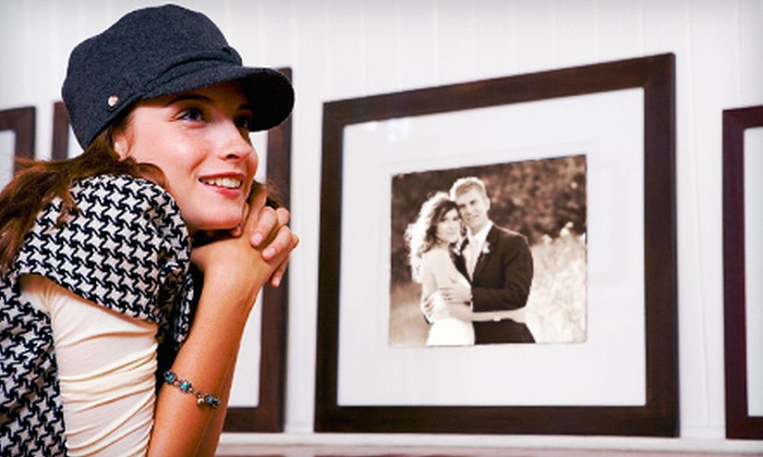The Beveled Edge - Sand Ridge: Custom Framing and Framed Prints at The Beveled Edge in Homewood (Up to 63% Off). Two Options Available.