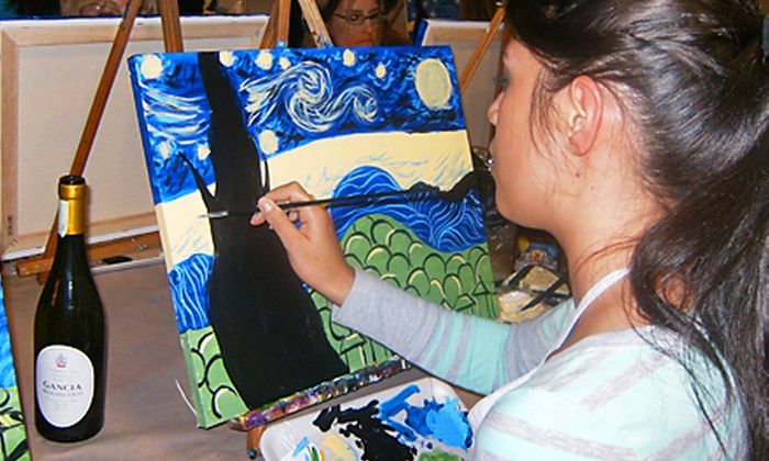 A Piece of Work - Fort Worth: $23 for a BYOB Painting Class at A Piece of Work ($40 Value)