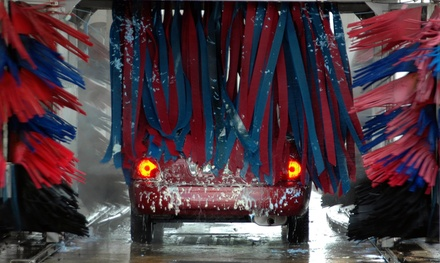 5 Deluxe or 10 Works Car Washes at Gas Stop Holiday (Up to 44% Off)