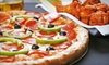 Swacks Pizza and Wings - Santa Maria: One or Two Large Pizzas and Pitchers of Beer at Swack's Pizza & Wings (52% Off)