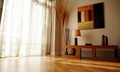 Up to 150 or 300 Sq. Ft. of Hardwood-Floor Installation from Fix It All, LLC (Up to 40% Off)