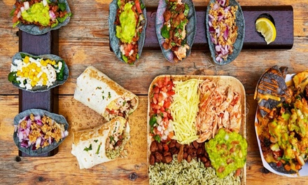One-Course Mexican Meal with Cocktails for Two or Four at The Loft 89
