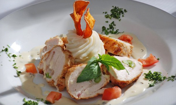 David's Bistro - Antioch: Upscale Bistro Dinner and Drinks at David's Bistro (Up to 52% Off). Two Options Available.